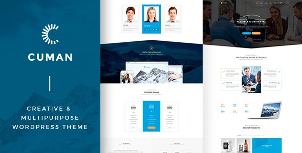 Cuman - Business Corporate theme - Marketing Corporate
