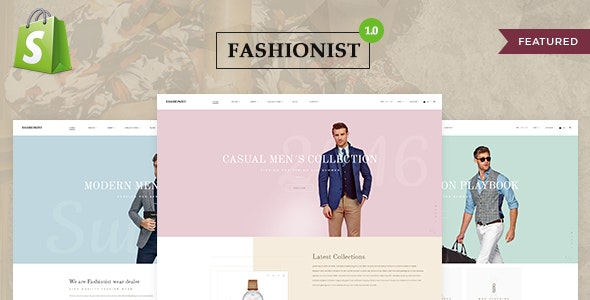 Fashionist - Shopify Theme - Fashion Shopify