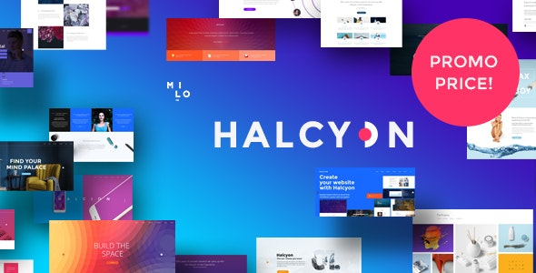 Halcyon - Multipurpose Modern Website HTML5 & CSS3 Template by