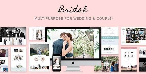 Bridal - Wedding WordPress Theme - Wedding WordPress