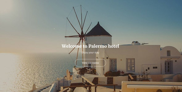 Palermo - Responsive Hotel Template - Travel Retail