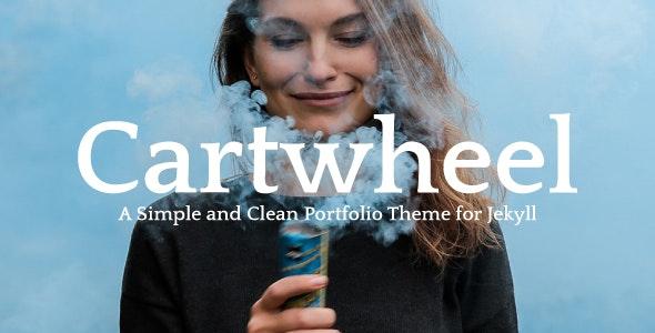 Cartwheel - A Simple & Clean Portfolio Theme for Jekyll - Jekyll Static Site Generators