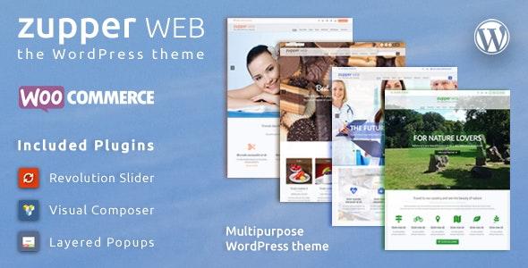 Zupper web – multipurpose responsive WooCommerce WordPress theme - eCommerce WordPress