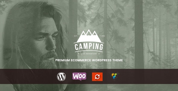 Camping - Responsive WooCommerce WordPress Theme - WooCommerce eCommerce