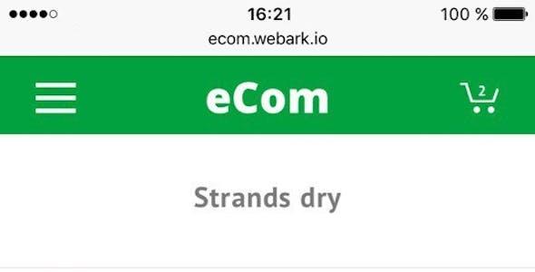 eCom - Material Design Multipurpose eCommerce HTML Template