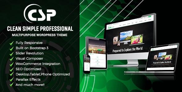 CSP Responsive Multipurpose WordPress Theme - Corporate WordPress