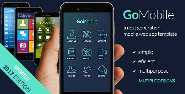 Go Mobile - Mobile Site Templates
