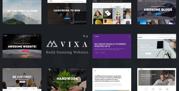 Vixa - Creative Multi-Purpose WordPress Theme - Business Corporate