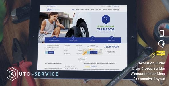 Auto Repair - Car Mechanic Services - Business Corporate