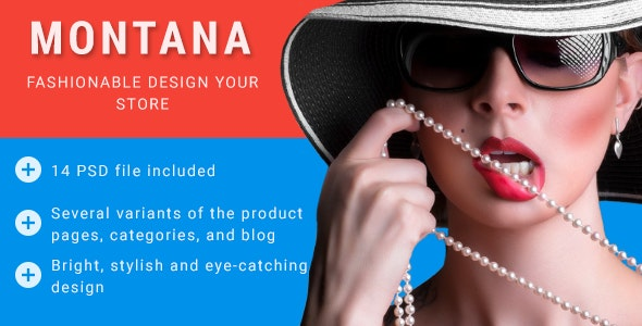 MONTANA — Bright and Modern Online Store - Fashion Retail
