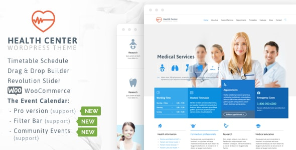 Healthcare - Medical for Doctor Dentist - Health & Beauty Retail
