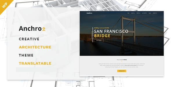 Anchro - Creative Architecture WordPress Theme