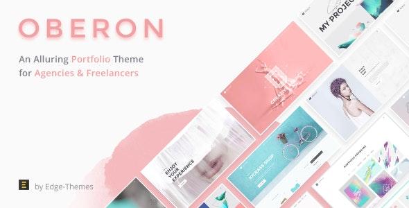 Oberon - Freelancer Portfolio Theme - Portfolio Creative