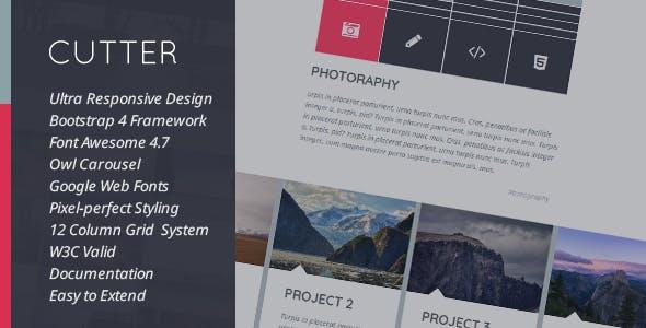 Cutter - Corporate Project Multipurpose HTML Template