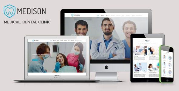 Medison - Medical, Dental Clinic HTML Template