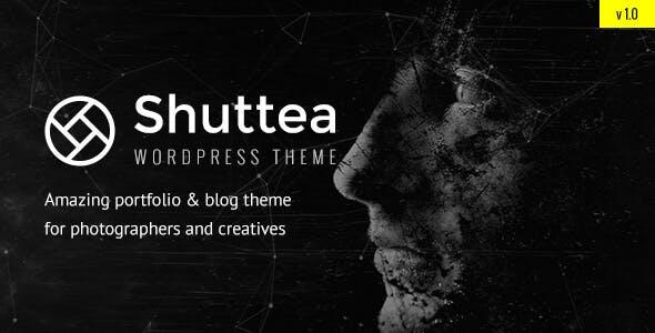 Shuttea — Portfolio & Blog WordPress Theme for Photographers