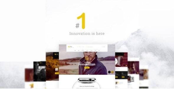 Number ONE – Multipurpose HTML Template - Portfolio Creative