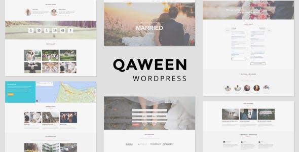 Qaween - Wedding WordPress Theme