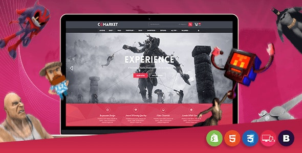 CGMarket - Sectioned Responsive Shopify Theme - Entertainment Shopify