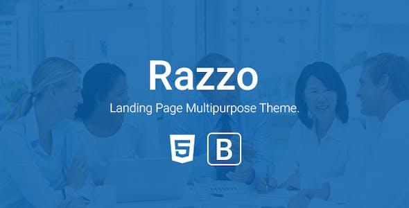 Razzo - Multipurpose Responsive Bootstrap Landing page htme