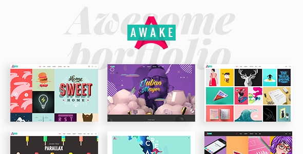Awake - Creative Portfolio Theme - Portfolio Creative