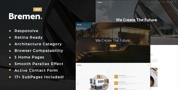 Bremen - Architecture & Interior Design WordPress Theme - Business Corporate