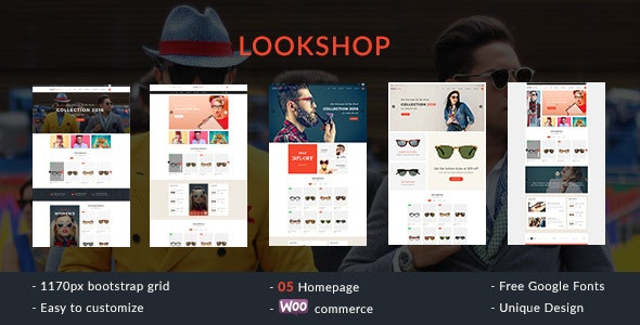 Lookshop - Responsive WooCommerce WordPress Theme - WooCommerce eCommerce