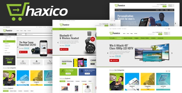 Haxico - Electronics Store HTML Template - Shopping Retail