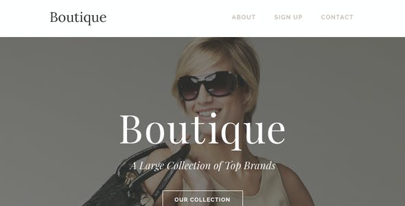Boutique - Responsive Email + Themebuilder Access