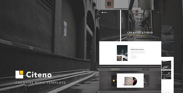 Citeno - Creative Multipurpose HTML5 Template - Creative Site Templates