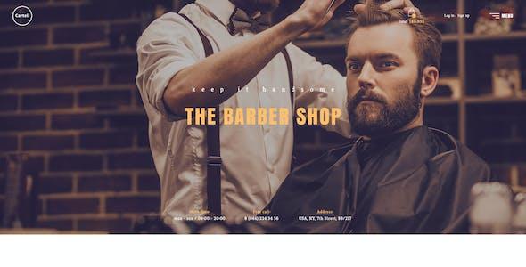 Cartel - Salon / Barber / Beauty eCommerce PSD Template