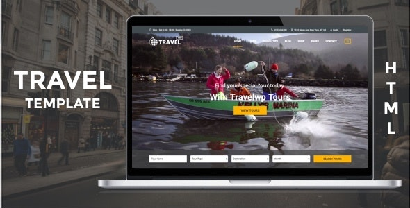 Tour & Travel HTML Template - Travel Retail