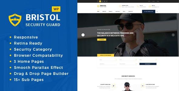 Bristol - Security & Guarding Services WordPress Theme