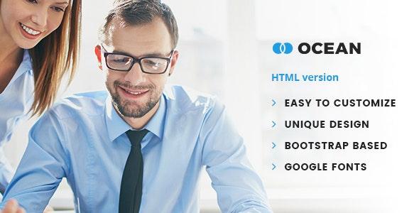 Ocean - Business Niche HTML Template - Corporate Site Templates