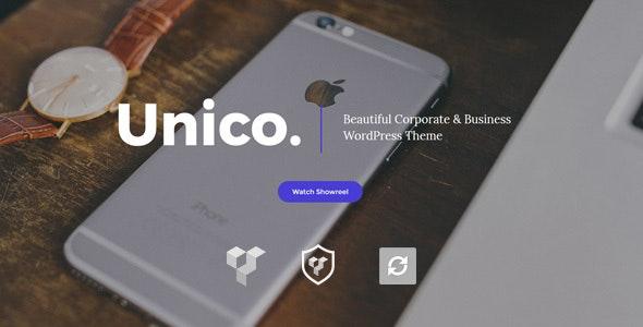 Unico - Creative & Business WordPress Theme - Corporate WordPress