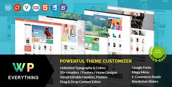 Everything - Woocommerce Responsive WordPress Theme - eCommerce WordPress
