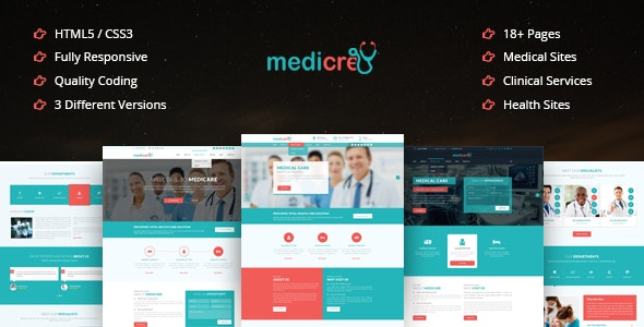 Medicre | Health, Doctor, Dental & Medical Template - Health & Beauty Retail
