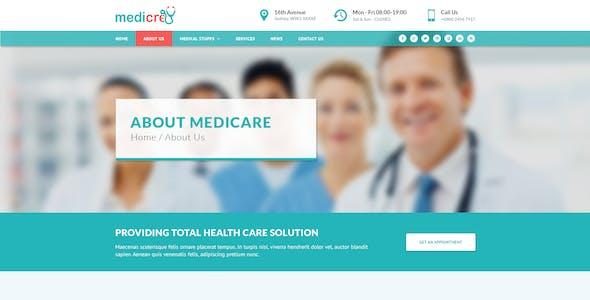 Medicre   Health, Doctor, Dental & Medical Template