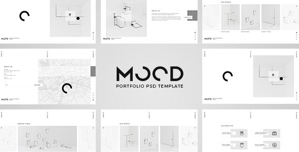 MOOD - Multipurpose PSD Template - Creative Photoshop