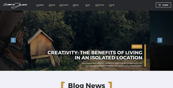 Life Coach HTML Website Template