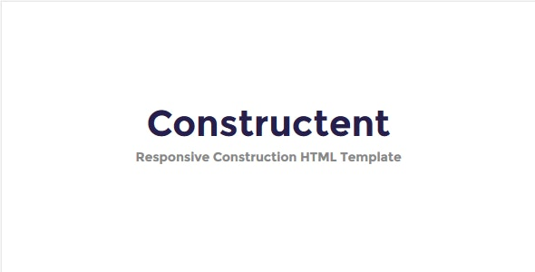 Constructent - Responsive Construction HTML Template - Business Corporate