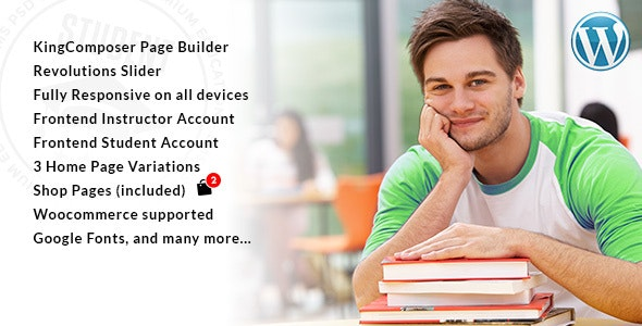 Student - WordPress Theme for University and LMS - Education WordPress