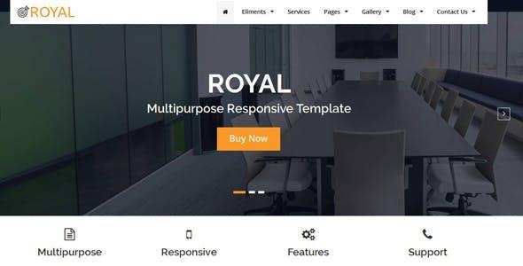 Royal Multipurpose HTML5 Responsive Template