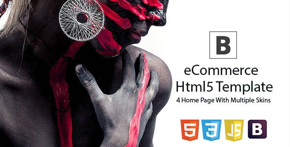 Brand eCommerce - HTML5 Template - Shopping Retail