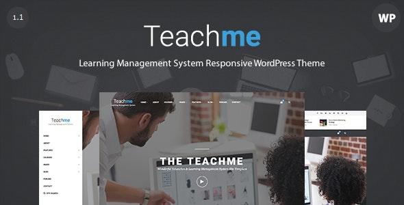 Teachme - Responsive Learning Management System WordPress - Education WordPress