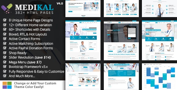 Medikal - Medical Health HTML - Health & Beauty Retail