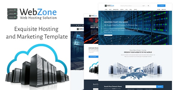 WebZone - Exquisite Hosting and Marketing Template - Hosting Technology