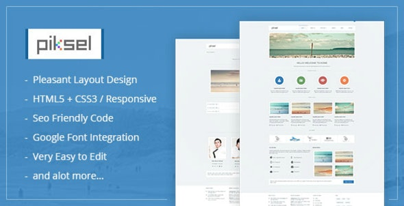 Piksel -  Creative and Portfolio WordPress Theme - WordPress