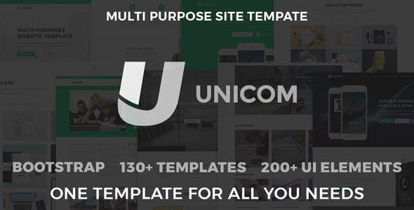 Unicom Responsive Multi Purpose Template