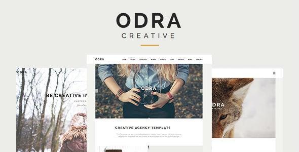 ODRA - Creative Multi-Purpose WordPress Theme - Portfolio Creative